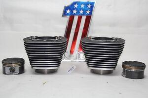 "Harley Twin Cam 88"" barrels cylinders Softail Dyna FL FXR FLHR FLTR FLTP EP22705"