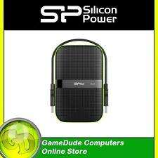 SILICON POWER 2TB ARMOR A60 Shockproof USB3.0 Portable HDD SP020TBPHDA60S3K F33