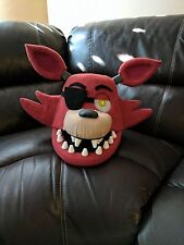 Foxy Costume Mask!  Moveable Jaw!  FNAF!! Five Nights at Freddy's