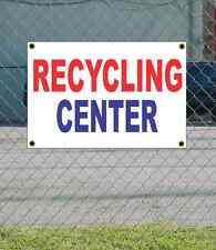 2x3 RECYCLING CENTER Red White & Blue Banner Sign NEW Discount Size & Price