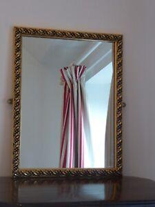 Gold Rectangular Mirror 45cm x 35cm