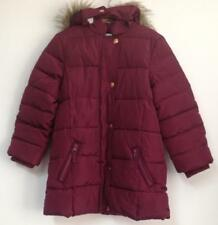 John Lewis - Girls' Padded Coat, Berry (Brand New Without Tag)