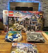 Lego Jurassic World (75919) Indominus Rex Breakout 100% Instructions and Box