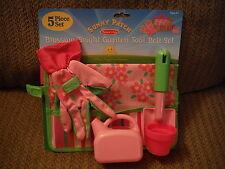 NEW Melissa & Doug Sunny Patch Blossom Bright Garden Tool Belt Set