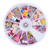 Many cabochon lot deco den scrapbooking flatback embellishments resin bow HOT