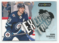 2017-18 UD Synergy Exceptional Talent #ET1 Mark Scheifele Winnipeg Jets