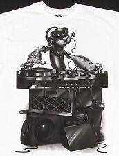 POPEYE The Sailor Man DJ Mixing T-shirt Comics Animated Cartoon Tee Adult XL New