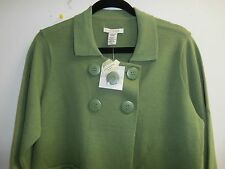 COVINGTON  Sweater JACKET  Top Size Large NWT OLIVE/GREEN
