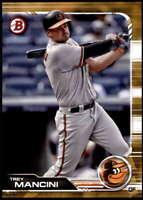 Trey Mancini 2019 Bowman 5x7 Gold #17 /10 Orioles