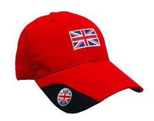SoftMark Golf Cap - Red - Union Jack by Asbri Golf with Ball Marker magnetic