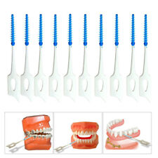 40 Pcs Brosse Cure Dents Brossette Interdentaires Dentaire Nettoyage Toothpick
