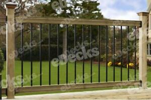 Traditional Balustrade Kit (2.4m Span), Railing Systems & Garden Handrails