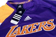 Adidas LA Lakers Purple XL Tracksuit Pants & Long Sleeve Jersey 2011 NBA Season