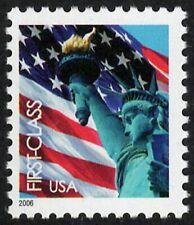 USA Sc. 3965 (39c) Flag & Liberty 2006 MNH WAG pane single