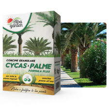 Concime Granulare in Polvere Fertilizzante per Cycas Palme Piante Tropicali 1 Kg