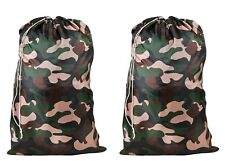 Large Laundry Bag Camouflage by Innovative Home Creations -