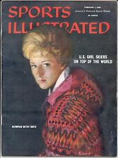 Sports Illustrated 1960 OLYMPICS Betsy Snite GRAND RAPIDS MICHIGAN No Label