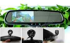 "Rear view mirror+4.3"" LCD display,fits VW Golf,Jetta,Bora,Audi,Tiguan,Passat.etc"