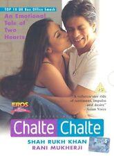 CHALTE CHALTE - SHAHRUKH KHAN - RANI - NEW EROS BOLLYWOOD DVD -  FREE UK POST