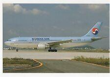 Korean Air Airbus A300-622R Aviation Postcard, A767