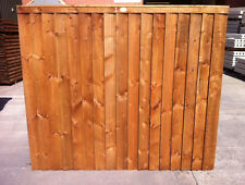Garden Fencing. Pressure treated 6x5 feather edge panel