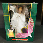 """Holiday 13"""" Fiber Optic Christmas Angel Tree Top or  Tabletop Decor. New in box."""