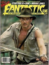 Fantastic Films #39 1984 INDIANA JONES,DUNE