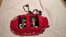 SET 4 PORSCHE GT3 BREMBO BRAKE CALIPERS BIG REDs CARBON SET UP inc PADS SENSORS