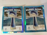 SUPER BOWL XLI OFFICIAL GAME PROGRAM - COLTS VS BEARS PREOWNED 2 COPIES