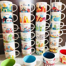 Starbucks Global City Ornament You Are Here Collection Paris Coffee Mugs Cup Mug