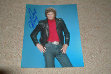 DAVID HASSELHOFF  signed  Autogramm 20x25 cm In Person KNIGHT RIDER