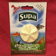 Vacation Holiday Fish Food Blocks For Tropical Or Coldwater For 14 Days