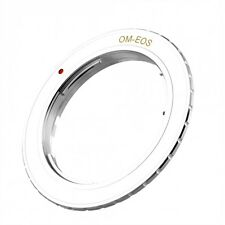 Olympus OM a Canon EOS EF / EF-S Lens Mount Adapter Ring UK Venditore