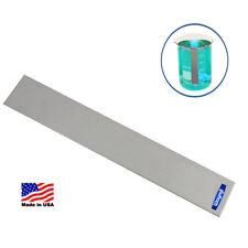 """NICKEL ANODE 1"""" x 6"""" FOR PLATER ELECTROPLATING MACHINE JEWELRY PLATING METALS"""