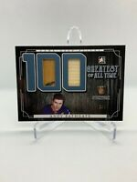 2017 Leaf ITG Greatest All Time GAME USED Stick ANDY BATHGATE 2/5! - New York