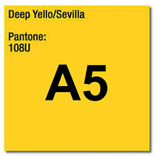 80 gsm A5 Coloraction printer & photocopier paper 500 sheets DARK YELLOW SEVILLA