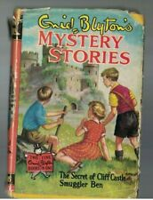 Enid Blyton's Mystery Stories HC DJ Smuggler Ben & Secret of Cliff Castle