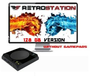 Retrostation 14k with 16500 or 34000 video games retro console without gamepads