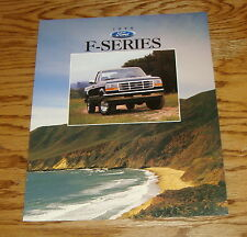 Original 1996 Ford Truck F-Series Sales Brochure 96 F-150 F-250 F-350