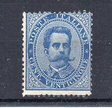 FRANCOBOLLI 1879 REGNO VITTORIO E. 2° CENT. 25 GOMMA NON ORIGINALE D/8879