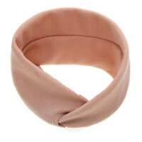 Newborn Toddler Kids Baby Solid Knot Turbans Headband Headwear Accessories HOT