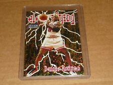 1998/99 Fleer Tradition DENNIS RODMAN ELECTRYING BULLS #10 K4573