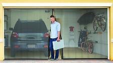 Double Garage Door Screen Magnet Bottom Insect Bug Mesh 16ft. x 7ft NEW
