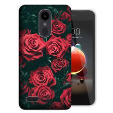 MUNDAZE LG Aristo 2 Plus Zone 4 UV Printed Design Case -Red Roses Phone Cover