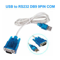 USB to Serial Adapter High Quality RS232 DB9 DSUB Com Port 9 Pin WIN 7, 8,10