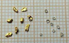 8 Pépites d'or + 8 diamants °°°  8 Gold Nuggets + 8 diamonds