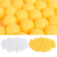 300pc Table Tennis Ping Pong Balls 40mm Plastic Training Sports Yellow White