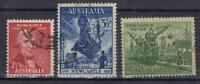 Australia 1947 Newcastle set SG 219-21 Used