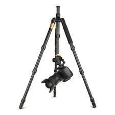 Q666 Portable Pro Aluminum Tripod Monopod Ball Head Travel for DSLR Camera