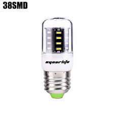 Eyourlife 2W E27 38 SMD 4014 Led Bulbs Corn Bulb With Cover Cool White